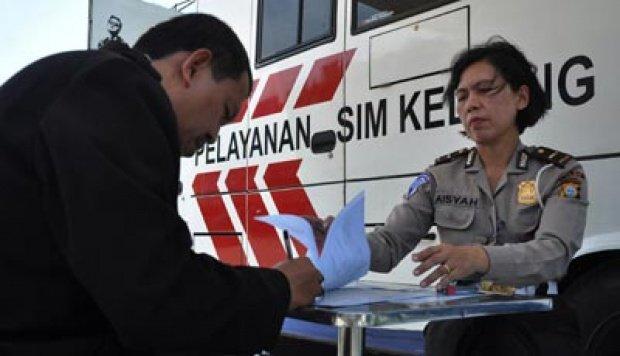 Jadwal SIM Keliling September 2018