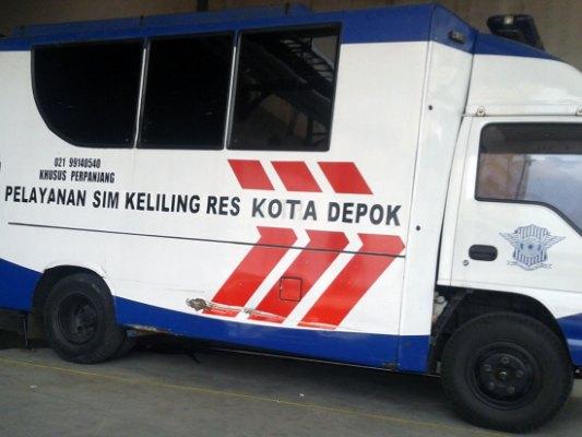 Jadwal SIM Keliling Kota Depok September 2021