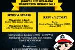 Jadwal SIM Keliling Kota Bekasi Juni 2017