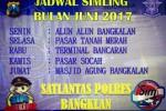 Jadwal SIMLING BANGKALAN JUNI 2017