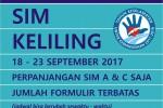 Jadwal SIM Keliling Hari Ini 2017