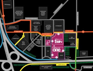 Lokasi Gerai SIM Corner Lippo Mall Puri