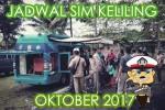 Jadwal SIM Keliling Oktober 2017