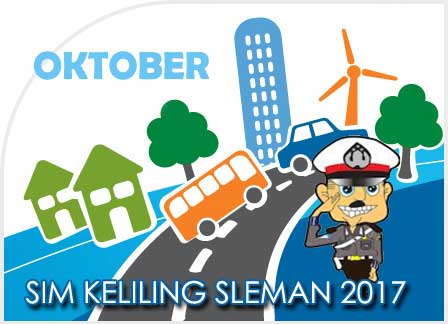 Jadwal SIM Keliling Sleman Desember 2017