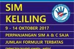 Jadwal SIM Keliling Yogyakarta 9-14 Oktober 2017