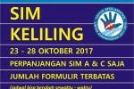 SIM Keliling Yogyakarta 23-28 Oktober 2017