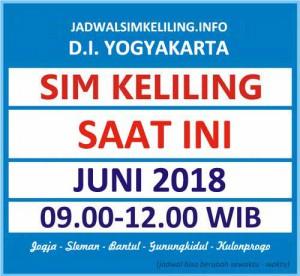 Jadwal SIM Keliling Bantul Juni 2018