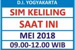 Jadwal SIM Keliling Bantul Mei 2018