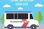 Jadwal SIM Keliling Kediri Kota Maret 2018
