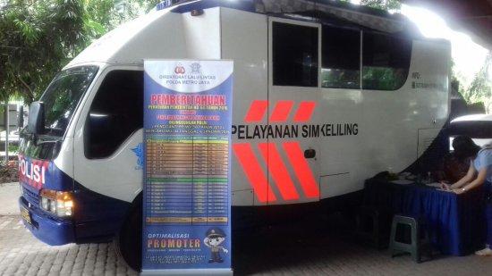 Lokasi SIM Keliling Jakarta 3 September 2021