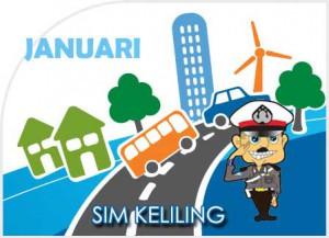 SIM Keliling Sleman Januari 2018