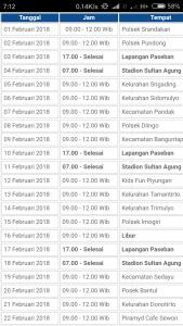 Jadwal sim keliling bantul februari 2018
