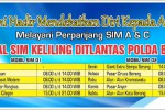 Jadwal SIM Keliling Banten 2018