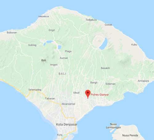 Lokasi SIM Keliling Gianyar Bali