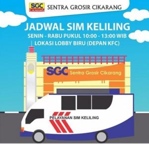 Jadwal SIM Keliling Cikarang Desember 2019