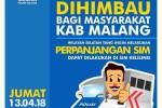 Jadwal SIM Keliling Malang 2018