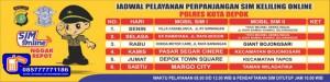 Jadwal SIM Keliling Depok Juni 2018