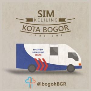 Jadwal SIM Keliling Polres Kota Bogor Kota Juni 2020