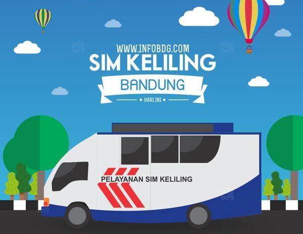 Jadwal SIM Keliling Bandung 2018