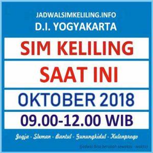 jadwal sim keliling oktober 2018