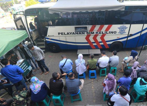 Jadwal SIM Keliling Bandung Hari Ini