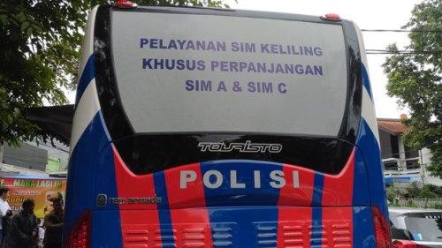 Jadwal SIM Keliling Cianjur April 2020