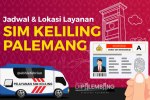 Jadwal SIM Keliling Palembang Mei 2021