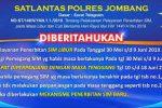 Jadwal SIM Keliling Jombang 2020