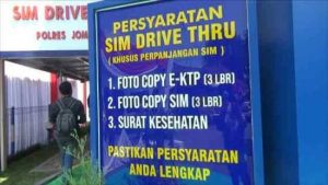 Jadwal SIM Keliling Jombang 2021