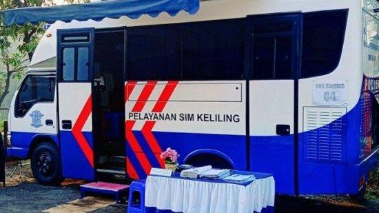 Jadwal perpanjangan SIM di Layanan SIM Keliling Jabodetabek