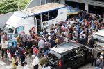 SIM Corner dan SIM Keliling Antrian Pendaftaran membludak