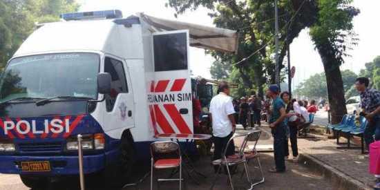 Jadwal dan Lokasi Gerai SIM Keliling Palembang