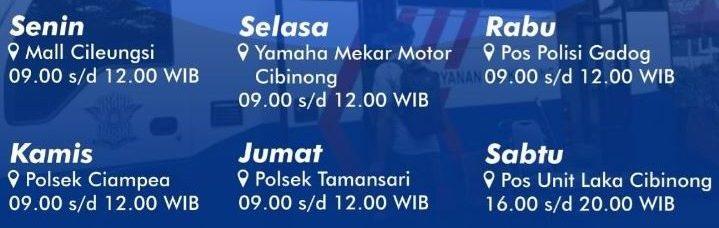 Jadwal SIM Keliling Bogor Juni 2021