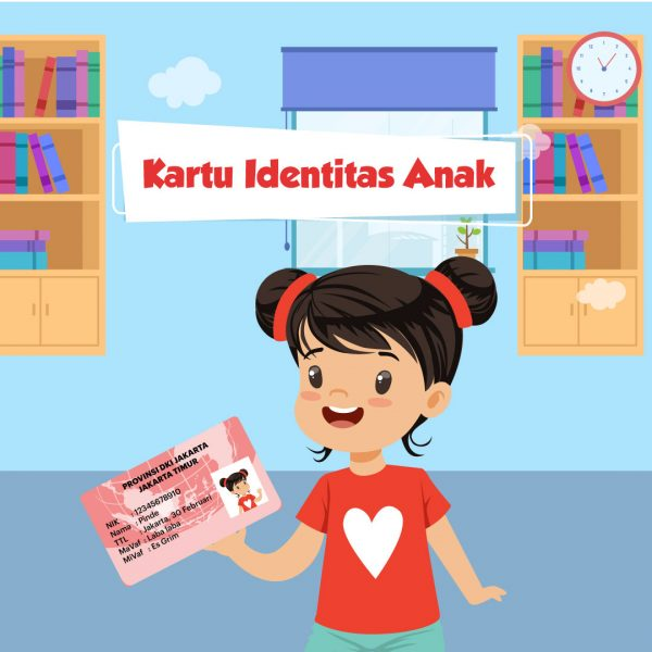 Kartu Identitas Anak KTP Anak untuk Warga Asing