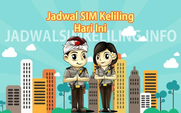 jadwal sim keliling Medan hari ini