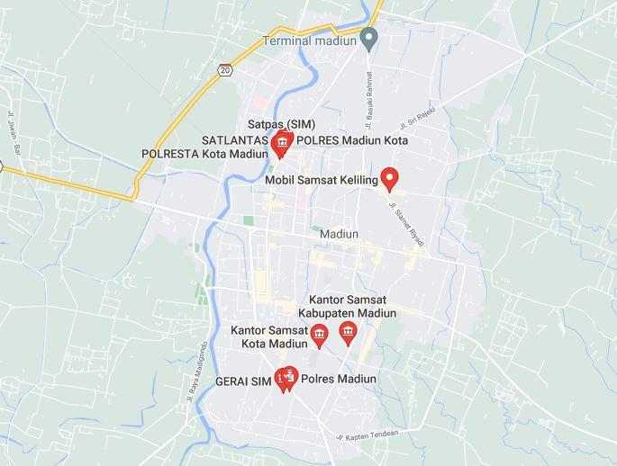 Jadwal dan Lokasi Bus SIM Keliling Madiun 2021