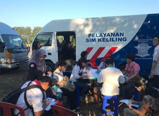 Lokasi Pelayanan SIM Keliling Kendari